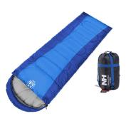 Zimtown Mummy Sleeping Bag Ultra Light Envelope Style Camping Hiking Winter W/ Carry Bag Hood Zipper