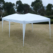 3m x 6.1m EZ POP UP Folding Wedding Party Tent Cross-Bar - White