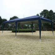 Apontus Outdoor Easy Pop Up Tent Cabana Canopy Gazebo with Carry Bag 3m x 6.1m Blue