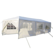9.1m x 3m Outdoor Party Canopy Tent with 8 Walls