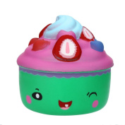 Sansee Cute Cake Squishy Slow Rising Cartoon Doll Cream Scented Decompression Toy