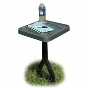 MTM Jammit Personal Outdoor Table for Cookouts Barbeques Sports Forest Green