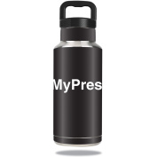 Skin Decal Wrap for Water Bottle 1060ml Not My President