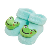 Falaiduo Newborn Baby Girls Boys Anti-Slip Socks Slipper Shoes Boots For 0-12months