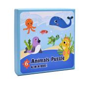 squarex Paper Puzzle Educational Developmental Baby Kids Training Toy