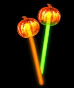 Glow Pumpkin Wand - Assorted