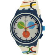 Swatch Men's Originals SUSN100 Multi Silicone Quartz Fashion Watch