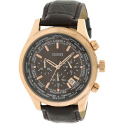 Guess Luscious Leather Chronograph Men's Watch
