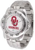 Oklahoma Sport Men's Steel Band Watch
