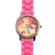 Disney Princess Watch Girls Jewellery Wrist Accessory with Rhinestones