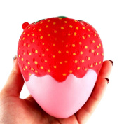 Kobay 11.5cm Strawberry Scented Squishy Slow Rising Squeeze Toys Jumbo Collection