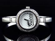 Gucci Ladies Gucci Bangle Diamond Watch YA105528