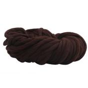 Woollen Ball, wuayi Wool Yarn Super Soft Bulky Arm Knitting Wool Roving Crocheting DIY Weaving Handmade Sweaters Hat Scarves