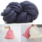 Giant Wool Yarn Chunky Yarn Super Soft Extreme Arm Knitting Crocheting Yarn Colours Bulky Wool Yarn (0.26kg