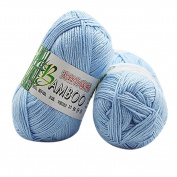 HUHU833 50g New Bamboo Cotton Warm Soft Natural Knitting Wool Yarn