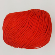 RICO ESSENTIALS COTTON DK - 50g 02 Red ***ALL COLOURS AVAILABLE***