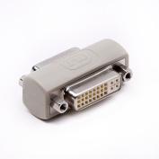 DVI coupler female to female gender changer bulkhead mount adapter