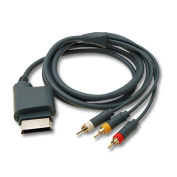 Cable for xbox a 3 rca Av / Rca for Xbox 360 First Generation 480p