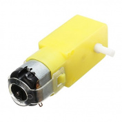 LaDicha Dc 3V-6V Gear Reducer Motor For Arduino Diy Smart Car Robot