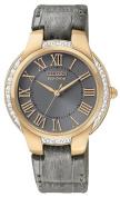 Citizen Women's EM0093-08H Ciena Eco-Drive Rose Gold Tone Watch