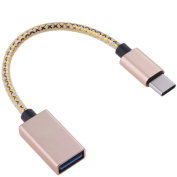 Amazingdeal Type-C to Female USB 3.0 Adapter Cable Data Charge Cable for Android Tablet