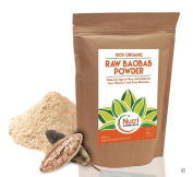 Baobab Powder, Raw and Organic, Full of Vitamin C, Calcium, Magnesium and Fibre for Better Health - 200g by Nutri Superfoods