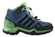 Adidas Terrex Mid GTX K – senderismopara Boots Children, Blue – (azubas/negbas/Verene), -31