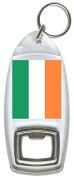 Flag of Ireland - Bottle Opener Keyring
