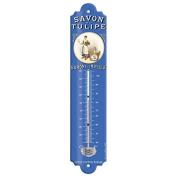 """Editions Clouet """"57061 Baron Son – Fragrance ' – 30x8 cm"""" Savon de la Tulipe Thermometer"""