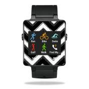 MightySkins Protective Vinyl Skin Decal for Garmin Vivoactive Smartwatch cover wrap sticker skins Chevron Style