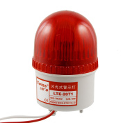 Unique Bargains Unique Bargains Red Light Signal Tower Industrial Warning Flash Lamp DC 24V Ijyyp