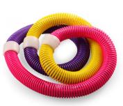 andensoner Colourful Stretchable Flexible Slimming Soft Spring Hula Hoop
