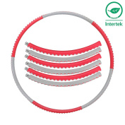 Ativafit Foam Padded Add Weight To 1.2kg (2.65lbs) Fitness Hula Hoop 95cm Wide Comfort