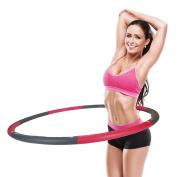 Jewado® Active Hoop Hula Hoop with Foam – 1.2 kg