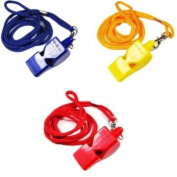 High Quality Referee Whistle Rescue Whistle Football Referee Whistle - Black