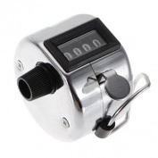 Souked 4 Digit Number Clicker Golf Hand Held Tally Counter New