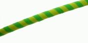 Hooping4Life Medium (100cm ) weighted (650g) Fluorescent Green & Yellow exercise & dance Hoola Hula Hoop