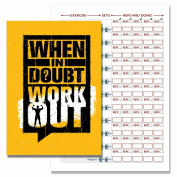 Gym Diary, Weight Training Diary Log Book, A5 Daily Workout Diary, Bodybuilding Log, Exercise Journal 103