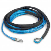 TRAC T10187 6.1m Synthetic Winch Rope, 3490kg