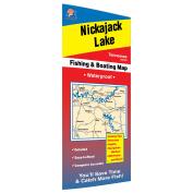 Nickajack Lake Fishing Map