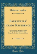 Barkeepers' Ready Reference
