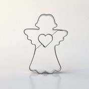 Angel with Heart 7.5 cm Stainless Steel Cookie Biscuit Cutter