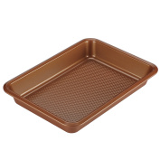 Ayesha Curry 47000 Bakeware Cake Pan, 23cm x 33cm , Copper