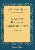 A List of Books on Industrial Arts