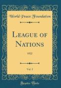 League of Nations, Vol. 5