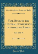 Year Book of the Central Conference of American Rabbis