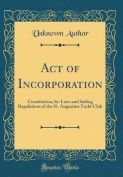 Act of Incorporation