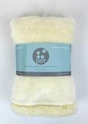 Baby Blanket Extra Soft Very CALIDA Brand Dot 75_x_100 cm ivory white