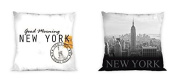 New York Reversible Decorative Cushion Cover Pillow Case Home Decor