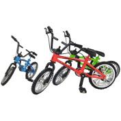 TOOGOO(R) Tech Deck Finger Bike Bicycle+ Finger Board Boy Kid Children Wheel BMX Toy S